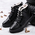 2016 Plus Size US Size 10& 10.5 Fashion Winter Leather Dr Martin Boots Martin Casual Shoes -B