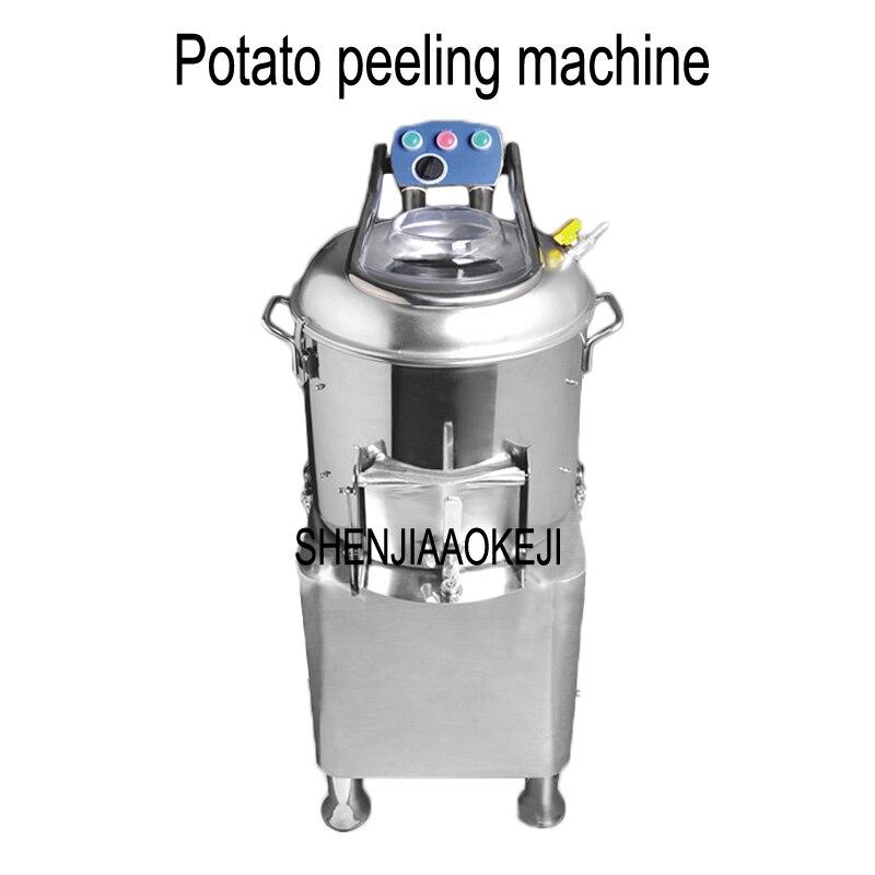 Di patate peeling macchina di patate Elettrico peeling macchina HLB-15 15L commerciale pettine di pulizia di patate pelapatate 220 v 1 pzDi patate peeling macchina di patate Elettrico peeling macchina HLB-15 15L commerciale pettine di pulizia di patate pelapatate 220 v 1 pz