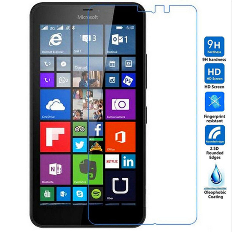 0.33mm Screen Protective Tempered Glass Film on the For Nokia Microsoft Lumia 640 640XL N950 X2 XL Screen Protector Cover image