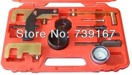Diesel Engine Camshaft Crankshaft Locking Belt Tensioner Alignment Timing Tool Kit For Renault Nissan Vauxhall Opel ST0066 engine camshaft alignment timing tool kit for audi vw 2 0l fsi tfsi