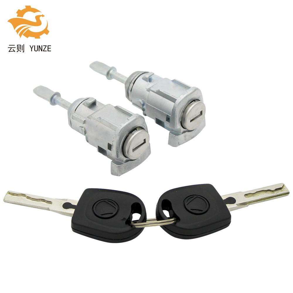 OE 604837167/168 اليسار الأيمن قفل الباب اسطوانة برميل ل VW GOLF 4 IV MK4 بورا A6 سكودا فابيا بولو 1997-2003 جديد جودة عالية