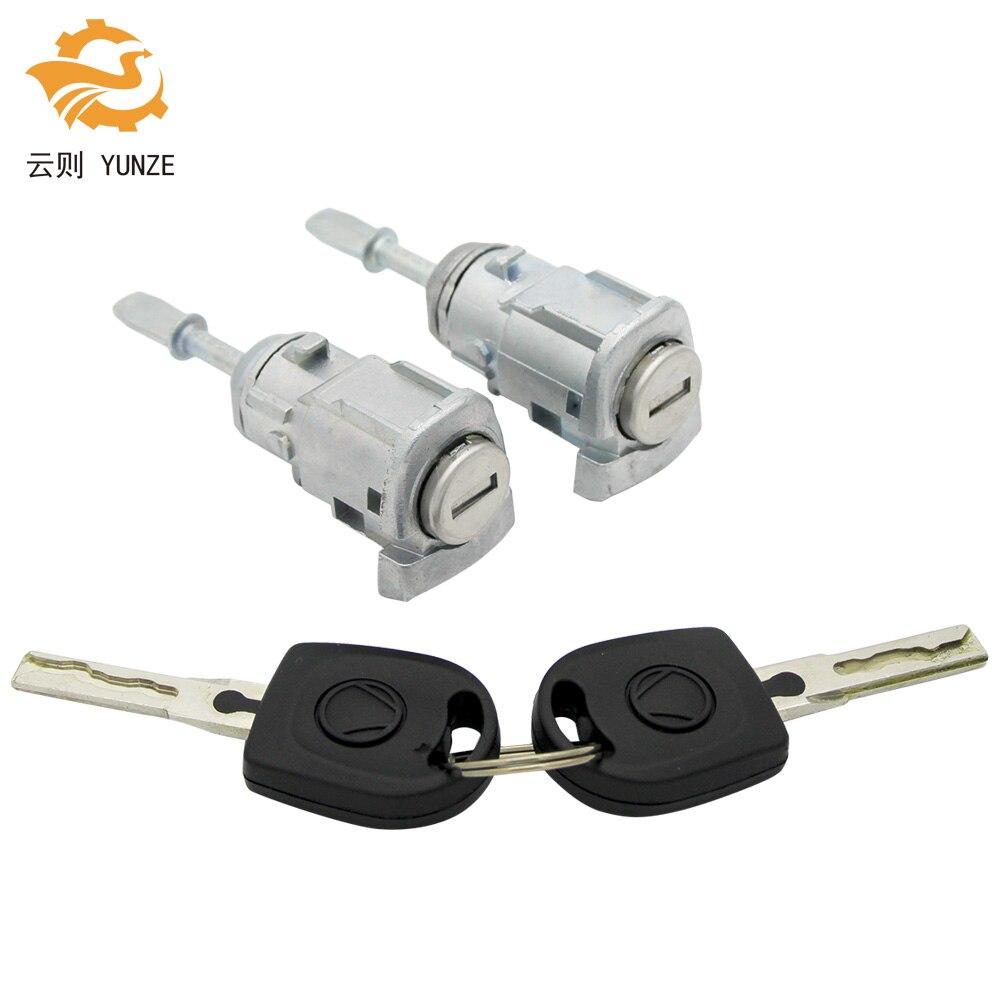 OE 604837167/168 cilindro de cerradura de puerta izquierda derecha para VW GOLF 4 IV MK4 BORA A6 SKODA Fabia POLO 1997-2003 nuevo de alta calidad