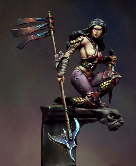 Scale Models 1/ 32 54mm Suzanne, The Night Hunter 54mm    Figure Historical  Resin Model