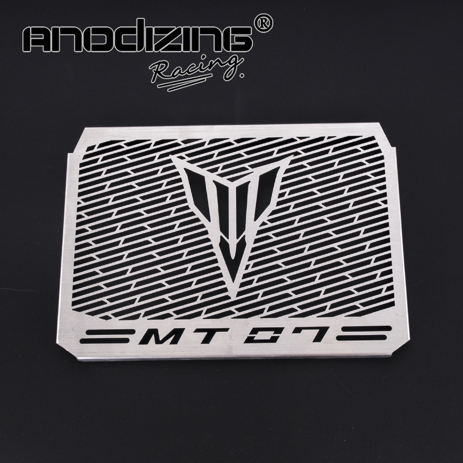 For Yamaha MT07 MT 07 MT-07 2014-2017 Motorcycle Accessories Radiator Grille Guard Cover Protector for yamaha mt 07 mt 07 fz 07 fz 07 radiator grille guard cover protector for yamaha mt07 fz07 2014 2015 2016 2017