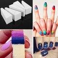 3 Pcs Prego Lixar Arquivos Bloco Nail Art Polonês Esponja Pedicure Bares Gradiente Escovas