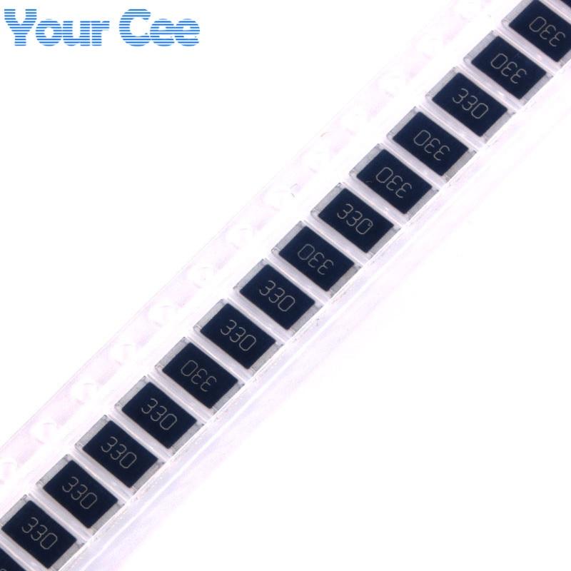 50 Pcs 2512 SMD Chip Resistor 33 Ohm 33R 330 1W 5% Passive Components Resistors