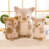 Animal Toy Plush Toys for Children Stuffed Animal Owl Toy Big Eyes Soft Small Cute Cheap Giant Dolls Toys for Child Boys Girl