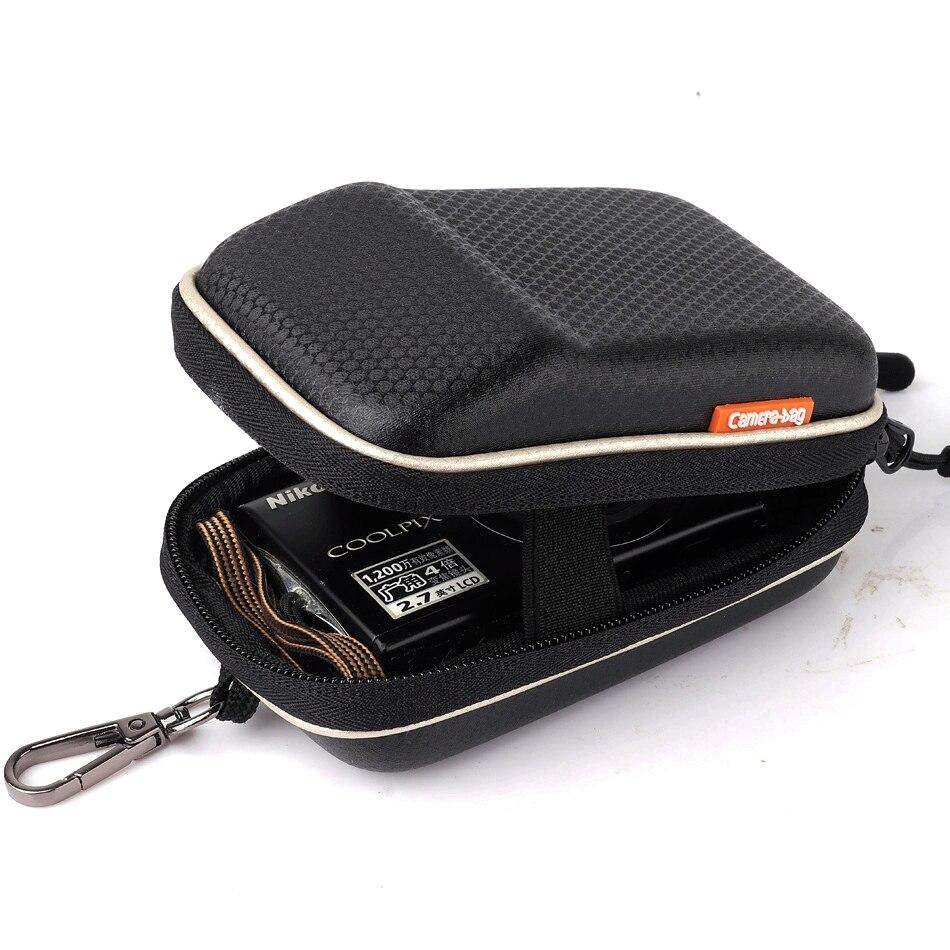 HUWANG Digital Camera Bag Case For Canon IXUS190 185 150 175 132 145 170 160 165 180 80 85 95 105 100 110 IXUS115 G7X ii G9X ii