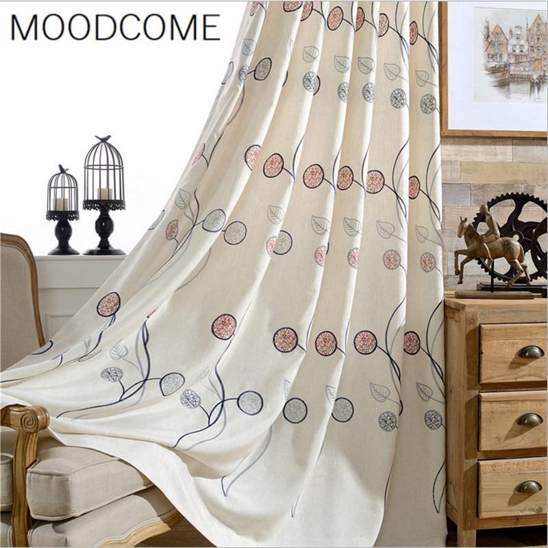 Karneval Baumwolle Bestickt Vorhänge für Wohnzimmer Esszimmer ...