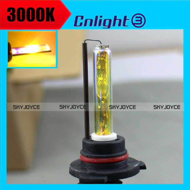 2016 new 2X Cnlight 35W 9005 9006 H8 H9 H11 3000K Golden yellow xenon bulb  free shipping cnlight xenon bulb replacement SQ0737