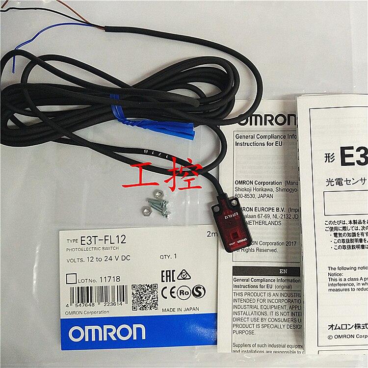 Photoelectric Switch Sensor E3T-FL12 Warranty For Two YearPhotoelectric Switch Sensor E3T-FL12 Warranty For Two Year