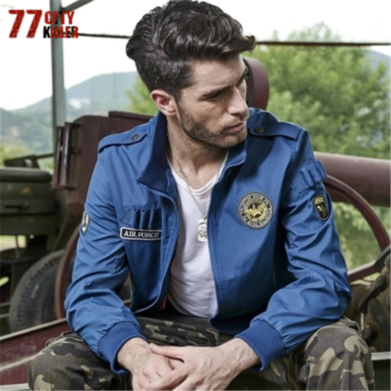 1a201f6d5686a ... Military tactical jacket Male Stand Collar windbreaker jacket Plus Size  M-4XL. В избранное. gallery image
