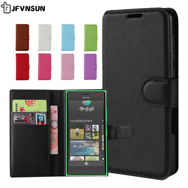 buy popular e11c1 69a43 US $3.21 14% OFF|For Nokia Lumia 730 735 Case on Lumia 735 730 Case Flip  4.7 inch Magnetic Wallet Leather Book Case for Nokia Lumia 735 730 Cover-in  ...