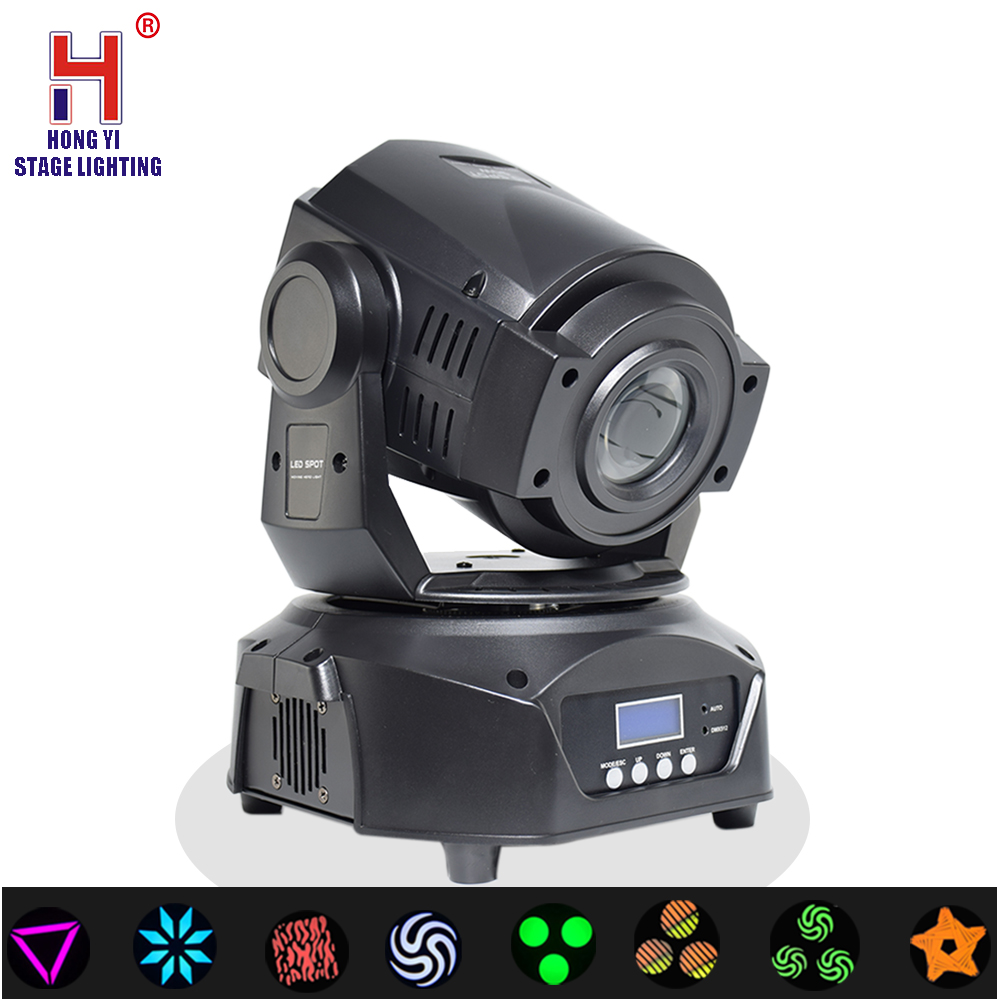 led 90W Moving Head beam Gobo Lights DMX controll Electronic Focus 3 Facet Prism Effect