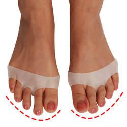1 пара высокое качество силиконовые обувь на высоком каблуке Нескользящие защиты боли Уход за ногами невидимый носок стопы мягкие гелевые