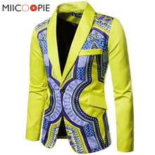 Luxury Men Wedding Suit Male Blazers Slim One Button Nationa