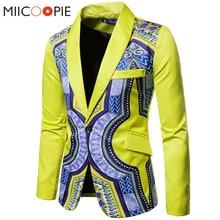 Luxury Men Wedding Suit Male Blazers Slim One Button National Printed Suit Groomsman Dress Costume Business Formal Party XXXL