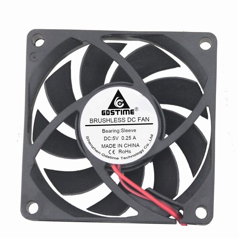 24V Dual Ball Bearing 70mm 15mm Cooling Case Fan 70x70x15mm PC CPU Computer 2Pin