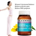 Blackmores Evening Primrose Oil 190capsules Women health supplement Reduce breast tenderness Improve menstrual cycle relieve PMS