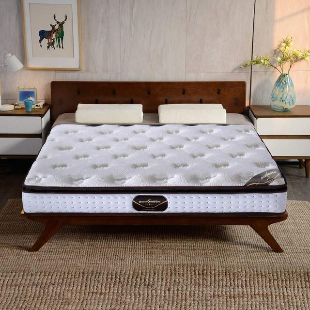 Compressed Latex Pocket Mattress With High Density Foam King Size