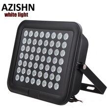 56PCS Array white LED CCTV LEDS Illuminator white Light Night Vision AC 220V  IP65 metal For CCTV Surveillance Camera