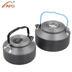 APG ultralight 1200ml czajnik kempingowy lub 700ml zewnętrzny menażki na wyprawę i kemping|Zewnętrzne zastawy stołowe|Sport i rozrywka -