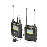 Saramonic UWMIC9 UHF Wireless Lavalier Microphone Tour Guide System For Tour Guiding Teaching Travel Simultaneous Translation