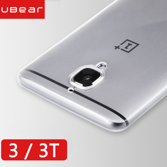 oneplus 3t case oneplus 3t case cover a3010 soft clear back silicone funda iBear premium back transparent oneplus 3 t 3t case