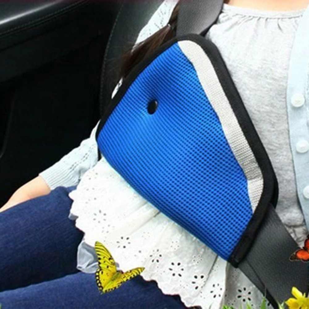 รถเข็มขัดนิรภัยที่นั่งทนทาน Adjuster รถความปลอดภัยเข็มขัดปรับอุปกรณ์สามเหลี่ยมเด็กทารกป้องกันเด็กความปลอดภัยสำหรับทารก