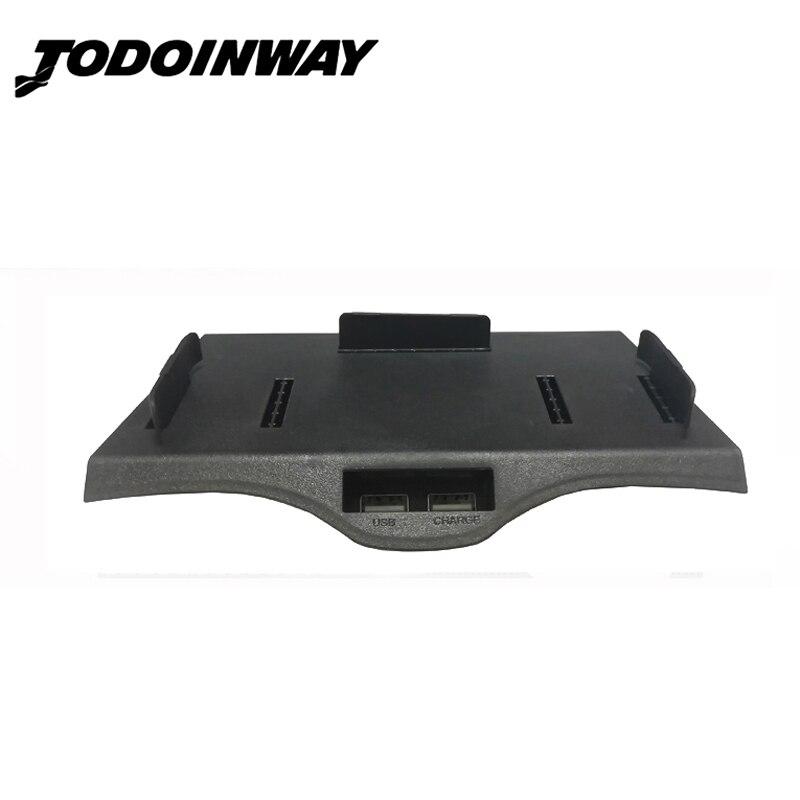 Voiture QI sans fil chargeur support pour téléphone center boîte de console de charge cas accessoires pour BMW 5 6 Série F10 G30 F38 525i pour iPhone