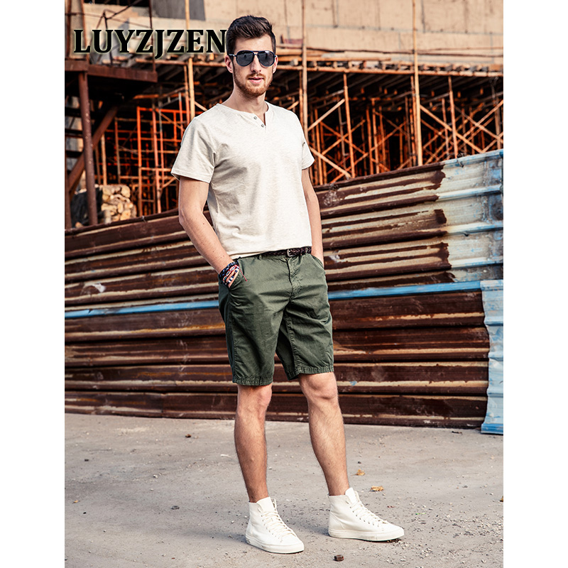 Cargo Shorts Workout Shorts Homme 2017 New Brands Short Style Mens Military Summer Trousers 2033