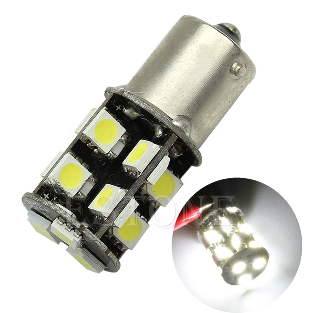 New 1156 5050 19-smd Led Canbus Error Free Backup Car Pure White Bulbs Lamps Good For Energy And The Spleen Automobiles & Motorcycles