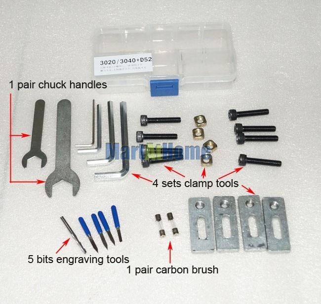 DHL Újszállítás - Új CNC 3020Z-DQ maró- és fúrógép, CNC - Famegmunkáló berendezések - Fénykép 5