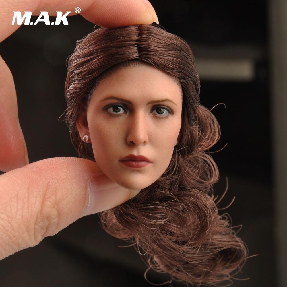 1/6 Scale Female Headsculpt Model Elizabeth Olsen Scarlet Witch Head Sculpt for 12'' Woman Action Figures Bodies a model for developing rating scale descriptors