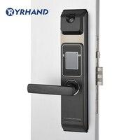 Nova chegada inteligente reconhecimento facial fechadura da porta digital tela de toque keyless rosto inteligente fechadura da porta lock digit lock smart lock door -