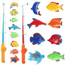Магнитом, улов тянуть магнитные рыбы стержень игра крюк ванна игры рыбалка