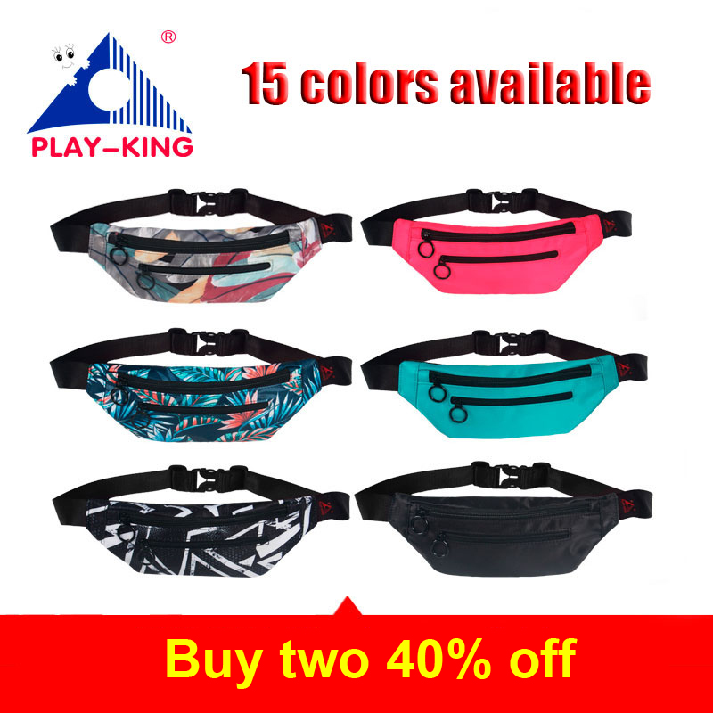 Leather Pink Waist Fanny Pack Bag For Women Men Black Bum Money Belt Waist Bag Pouch
