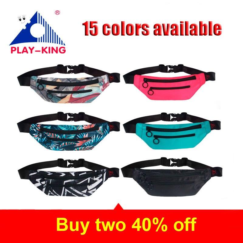 Leather Pink Waist Fanny Pack Bag For Women Men Black Bum Money Belt Waist Bag Pouch With Strap Waterproof 2018