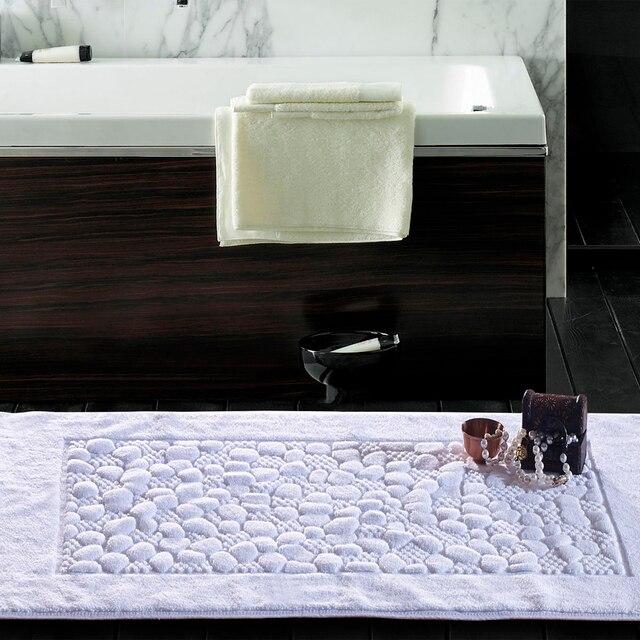 Pavimento del bagno asciugamano bianco 50*80 stanza da bagno ...