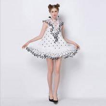 Luxury Runway Summer Womens tulle silhouette dress. US  29.00   piece Free  Shipping bb9807d19192