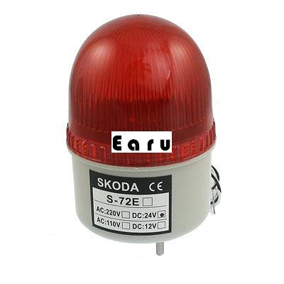Factory Supplied DC 24V Industrial Signal Tower Buzzer Sound Alarm Red LED Warning Light спот lussole loft lsp 9980