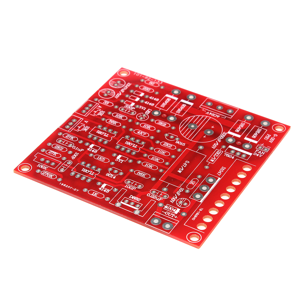 New Dc Regulated Power Supply Diy Kit Continuously Adjustable Short Circuit Current Limiting Protection 0 30v 2ma 3a In Integrated Circuits From