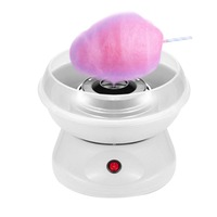 Electric DIY Mini Sweet Cotton Candy Maker Machine Sugar Machine Children Birthday Gifts EU Plug Pink Homemade White Household