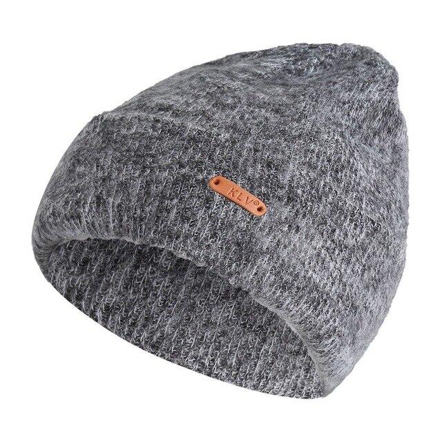 856cbc81fe9 Cashmere Baggy Beanies For Men Winter Cap Branded Women s Outdoor Bonnet  Skiing Hat caps Female Soft