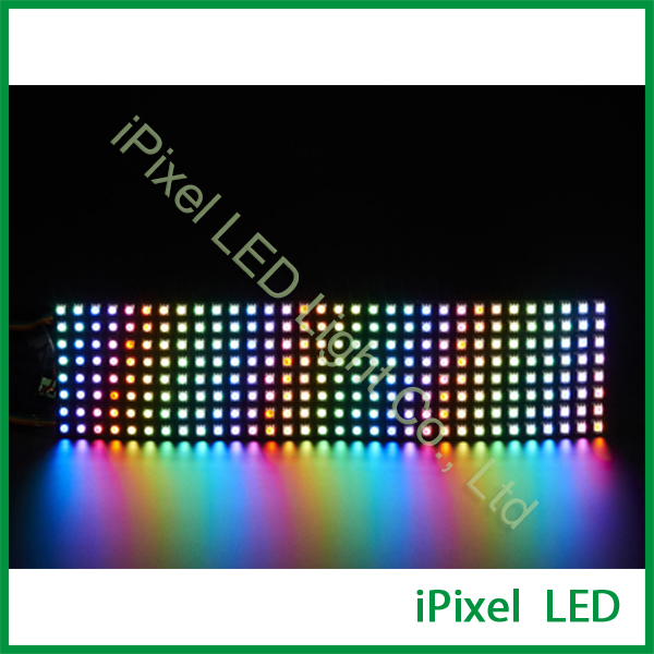 ФОТО Matrix flexible apa10210mm black pcb programmable indivually led pixel strip light