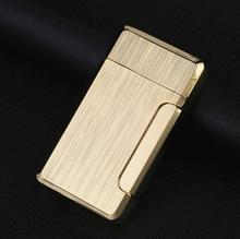 Meatl Turbo Torch Lighter Compact Butane Jet Cigar Pipe Lighter Cigarette Accessories Gas 1300 C Windproof No Gas все цены