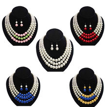 dca681c2b5ed3 Popular Multi Strand Beaded Necklaces-Buy Cheap Multi Strand Beaded ...