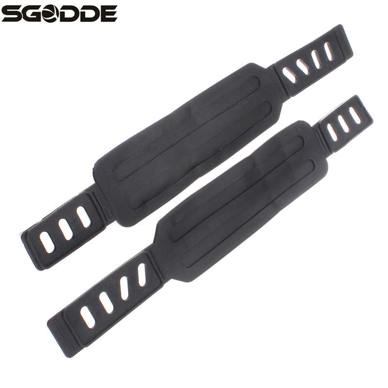 1 Pair Generic Pedal Straps for Exercise Bike Stationary Fit Most Schwinn /& More