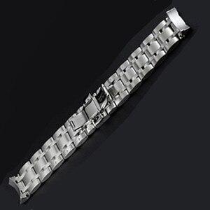 Image 3 - 22 مللي متر 23 مللي متر 24 مللي متر ل T035617 T035439 جديد مشاهدة أجزاء الذكور الصلبة الفولاذ المقاوم للصدأ سوار للساعة أشرطة ساعات يد ل T035