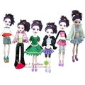 Free shipping 5sets=clothes dress suit outwear pants for monster high dolls and for bratz doll